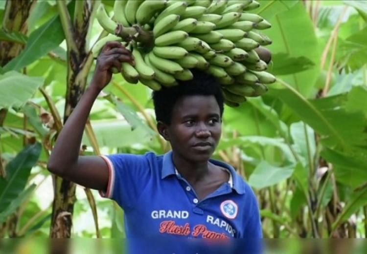 Young Rwandan woman's success
